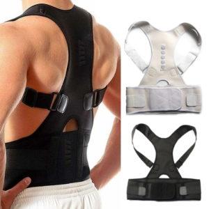 חגורת יישור גב וכתפיים לגברים