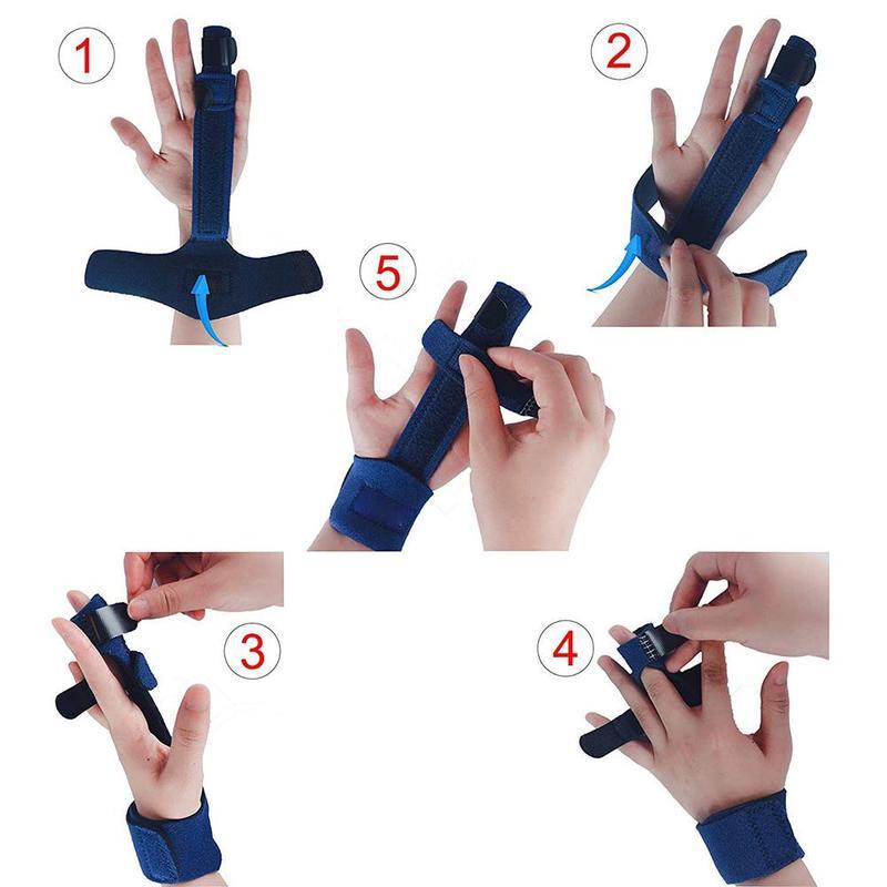 איך לחבוש את הסד לקיבוע אצבע פטיש