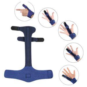 ניתן לחבוש את הסד לקיבוע אצבע בכל אחת מהאצבעות