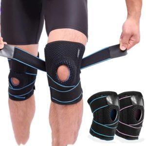 תומכי ברכיים עם רצועות תמיכה ראשי