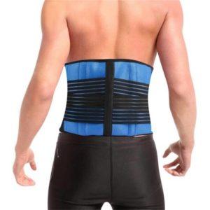 חגורת גב תחתון על גבר